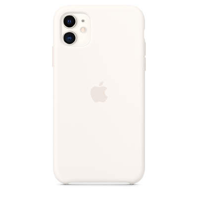 Чехол Silicon Case для iPhone 11 white