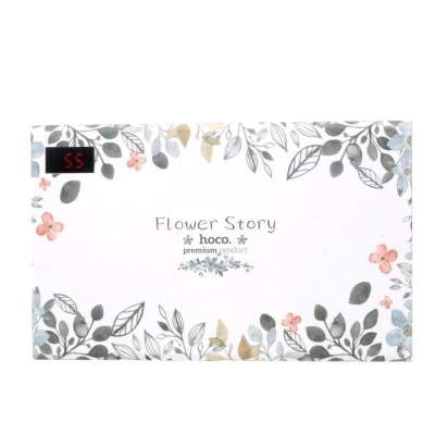 Внешний АКБ 20000 mAh HOCO B33 Flower story series white curd flower