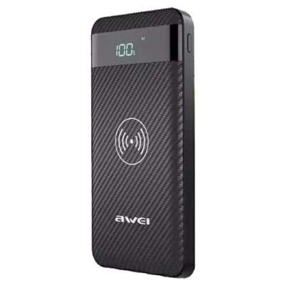 Внешний АКБ 10000 mAh Awei P55k (Black) Original