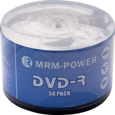 Диск MRM DVD-R 4.7GB (1 упак. = 50 шт.)