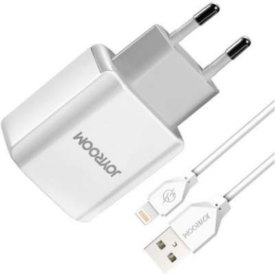 СЗУ + кабель Lightning JOYROOM AA CA-28 5V/2.4A=2A 2USB