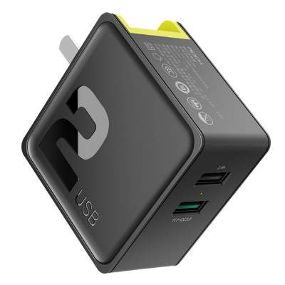СЗУ Rock Sugar QC3.0 Travel Charger (2-Port) Original