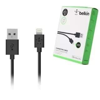 Кабель Lightning Belkin 1.2 m Black (упак. коробка)