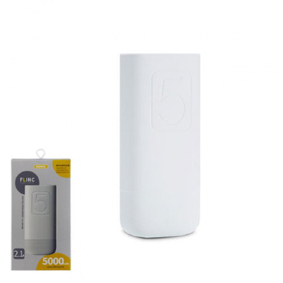 Внешний АКБ Remax 5000 mAh RPL-25 Flinc Series (White)