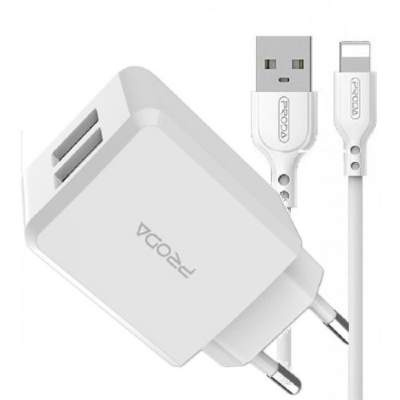 АЗУ Remax Proda Linshy pro Charger for Lightning PD-A22 (White)