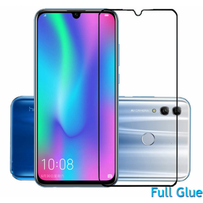 Стекло Huawei Honor 10 Lite Full Glue 2.5D Black/White
