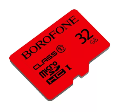 Карта памяти 32GB BoroFone TF high speed