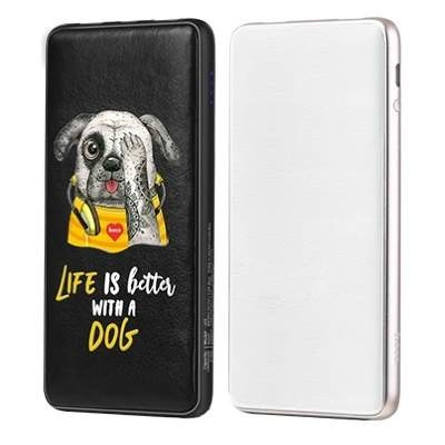 Внешний АКБ 10000 mAh HOCO J13 Adorable puppy series mobile Rudge