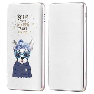 Внешний АКБ 10000 mAh HOCO J13 Adorable puppy series mobile Trendy