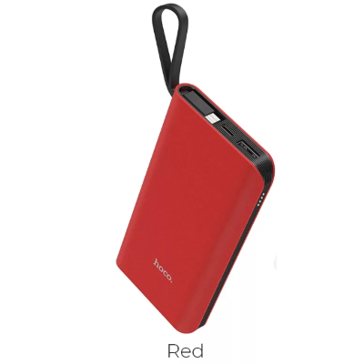Внешний АКБ 10000 mAh HOCO J25A New power mobile Micro-USB red