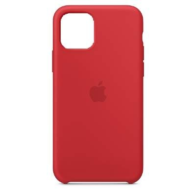 Чехол Silicon Case для iPhone 12 Mini красный