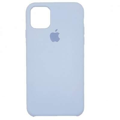 Чехол Silicon Case для iPhone 12 Mini лазурный