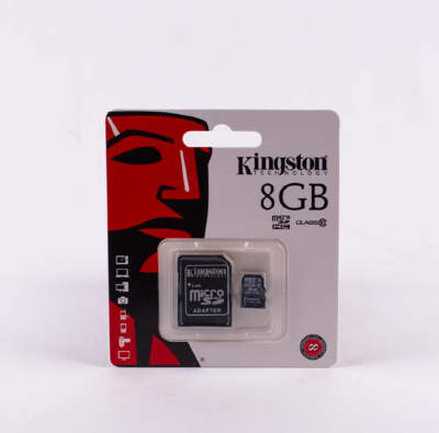 Карта памяти Micro KINGSTON 8gb class10