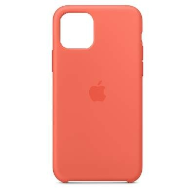 Чехол Silicon Case для iPhone 12 Mini оранжевый