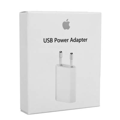 СЗУ Плоский 1USB/1A (Orig) (Power Adapter)