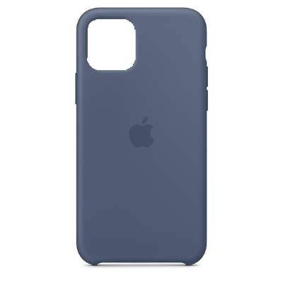 Чехол Silicon Case для iPhone 12 Mini синий