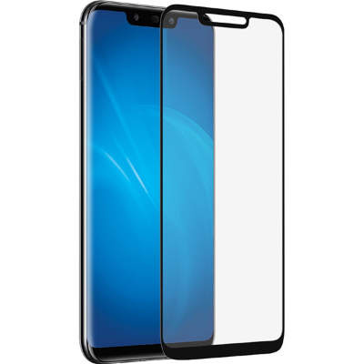Стекло Huawei Mate 20 Full Glue 2.5D Black/White