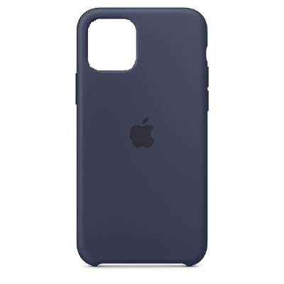 Чехол Silicon Case для iPhone 12 Mini темно-синий