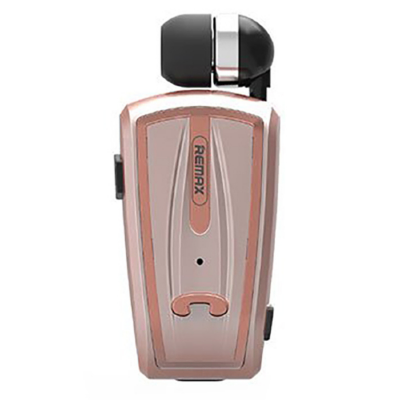 Гарнитура bluetooth Remax Clip-on RB-T12 (Rose Gold)