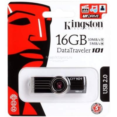 Флешка USB KINGSTON Data Traveler 101 16гб