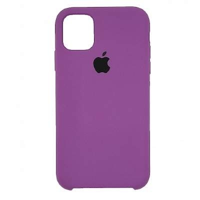 Чехол Silicon Case для iPhone 12 Mini ультрафиолет