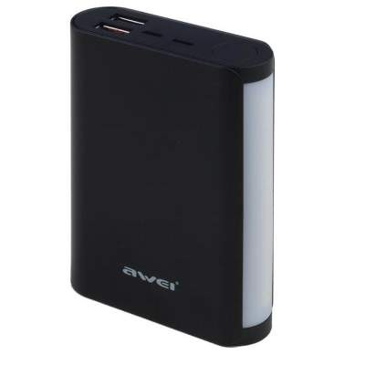 Внешний АКБ Awei P40K 10000 mAh Black Original