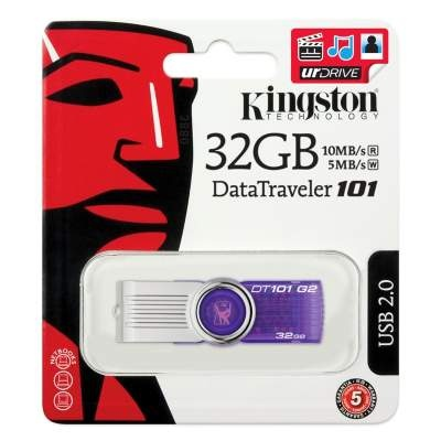 Флешка USB KINGSTON Data Traveler 101 32гб