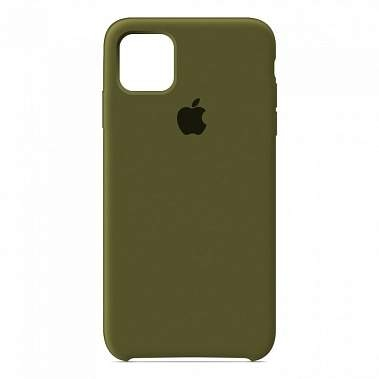 Чехол Silicon Case для iPhone 12 Mini хаки