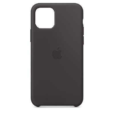 Чехол Silicon Case для iPhone 12 Mini черный