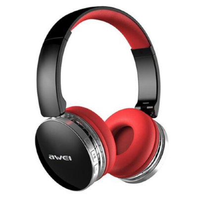 Наушники Bluetooth Awei A500BL (Black-red) Original
