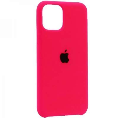 Чехол Silicon Case для iPhone 12 Mini ярко-малиновый