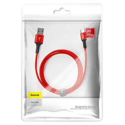Кабель Lightning Baseus halo 1.5A 2 m CALGH-C09 (Red)