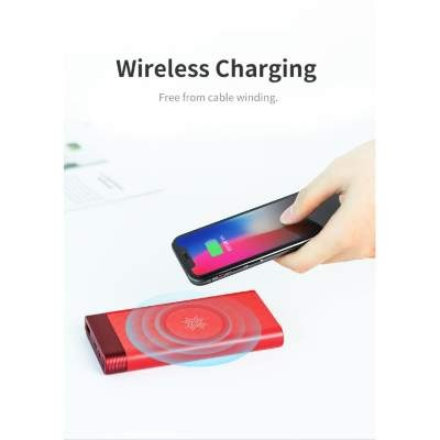 Внешний АКБ 10000 mAh Rock Space P56 wireless charging Original