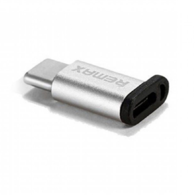 Переходник Remax Micro-Type-C Remax RA-USB1 (Silver)