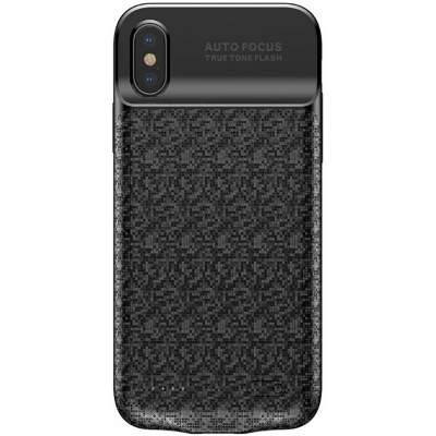 Чехол-аккумулятор 3500 mAh Baseus ACAPIPHX-BJ01 for iphone X black