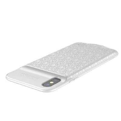 Чехол-аккумулятор 3500 mAh Baseus ACAPIPHX-BJ02 for iphone X white
