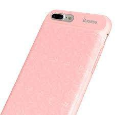 Чехол-аккумулятор 3650 mAh Baseus ACAPIPH7P-BJ04 for iphone 7/8 plus pink