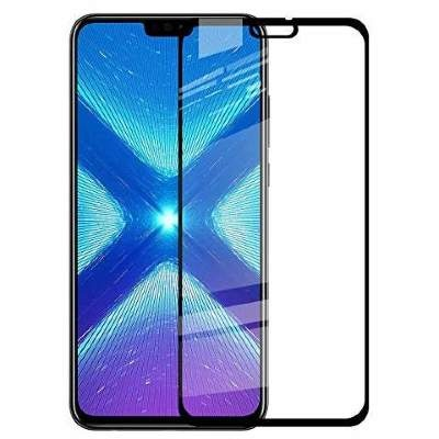 Стекло Huawei Y9 2019 Full Glue 2.5D Black/White