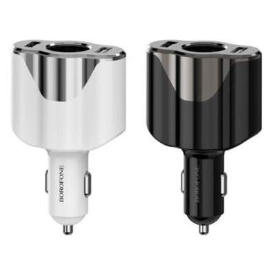 АЗУ BoroFone BZ7 DriveGo dual port with cigarette lighter socket car charger
