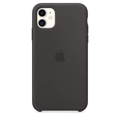 Чехол Silicon Case для iPhone 11 black