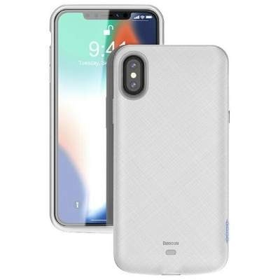 Чехол-аккумулятор 4000 mAh Baseus ACAPIPH58-BJ02 for iphone X/XS white