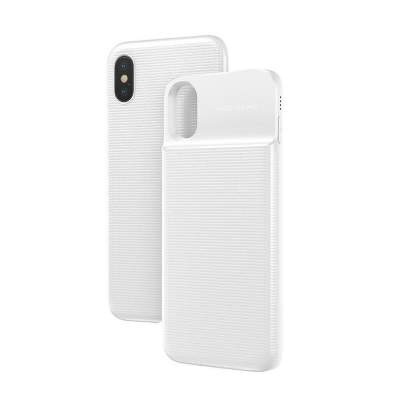 Чехол-аккумулятор 5000 mAh Baseus ACAPIPHX-ABJ02 for iphone X white